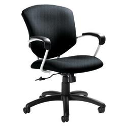 "Global® Supra Medium-Back Tilter Task Chair, 39""H x 26""W x 26""D, Graphite"
