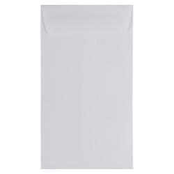 "JAM Paper® Open-End Coin Envelopes, #6, 3 3/8"" x 6"", White, Pack Of 25"
