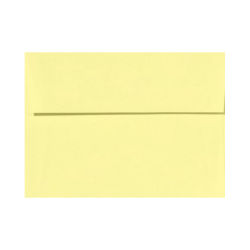 """LUX Invitation Envelopes With Peel & Press Closure, A6, 4 3/4"""" x 6 1/2"""", Lemonade Yellow, Pack Of 50"""