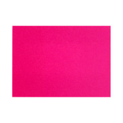 """LUX Flat Cards, A9, 5 1/2"""" x 8 1/2"""", Hottie Pink, Pack Of 50"""