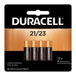 Pack of 2 Duracell Alkaline 12-Volt 21//23 Battery