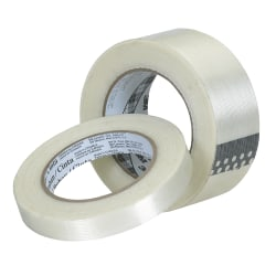 """3M® 8934 Strapping Tape, 1/2"""" x 60 Yd., Clear, Case Of 72"""