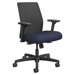 HON® Ignition Mesh Task Chair, Navy