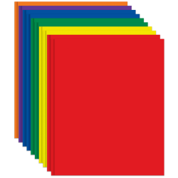 Office Depot® Brand 2-Pocket Paper Folders with Prongs, Assorted Colors, Pack Of 10