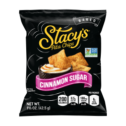 Stacy's® Cinnamon Sugar Pita Chips, 1.5 Oz, Pack Of 24