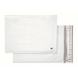 "Office Depot® Poly Bubble Mailer, Size #5, 10 1/2"" x 15"", White"