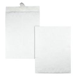 """Office Depot® Brand 10"""" x 13"""" Catalog Envelopes, Tyvek®, Clean Seal, White, Box Of 50"""
