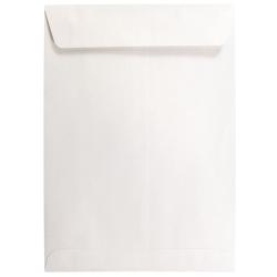 """JAM Paper® Open-End Catalog Envelopes, 7 1/2"""" x 10 1/2"""", White, Pack Of 25"""