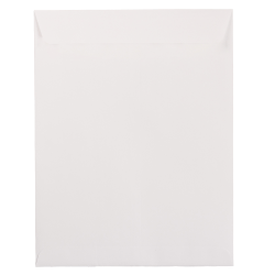 "JAM Paper® Open-End Catalog Envelopes With Gummed Closure, 10"" x 13"", White, Pack Of 25"