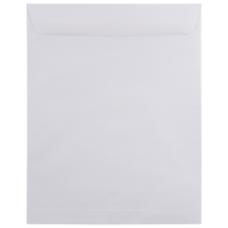 "JAM Paper® Open-End Catalog Envelopes, 11 1/2"" x 14 1/2"", White, Pack Of 25"