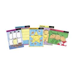 "Barker Creek® Chart Set, Graphic Organizer 1, 17"" x 22"", Grades 2+, Pack Of 10"