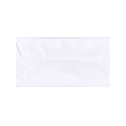 "JAM Paper® Booklet Wallet-Flap Envelope, #16, 6"" x 12"", White, Pack Of 25"
