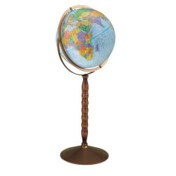 "Replogle® Treasury Floor Model Globe, 32"" x 12"""