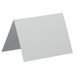 "JAM Paper® Blank Cards, 3 1/2"" x 4 7/8"", Fold-Over, White, Pack Of 100"