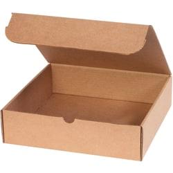 "Office Depot® Brand Literature Mailers 12"" x 11 3/4"" x 3 1/4"", Kraft, Bundle of 50"