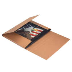 "Office Depot® Brand Jumbo Easy Fold Mailers, 26"" x 20"" x 6"", Kraft, Pack Of 20"