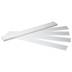 "Pacon® Sentence Strips, 3"" x 24"", White Tagboard, Pack Of 100"