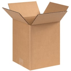 """Office Depot® Brand Corrugated Boxes 8"""" x 8"""" x 9, Bundle of 25"""