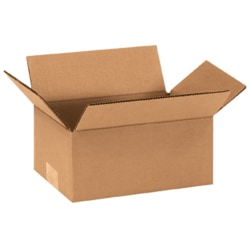 "Office Depot® Brand Corrugated Boxes 9"" x 5"" x 4"", Bundle of 25"