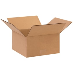 11in(L) x 11in(W) x 5in(D) - Corrugated Shipping Boxes