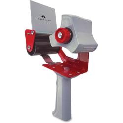 "Sparco 3"" Packaging Tape Dispenser - 3"" Core - Ergonomic Design, Adjustable Tension Mechanism, Durable - Gray"