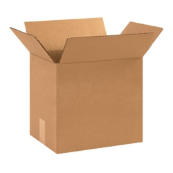 12in(L) x 9in(W) x 10in(D) - Corrugated Shipping Boxes