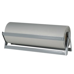 """Office Depot® Brand Bogus Kraft Paper Roll, 12"""" x 720', 100% Recycled, Gray"""