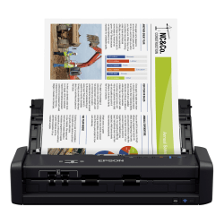 Epson® WorkForce® ES-300W Wireless Portable Duplex Document Scanner