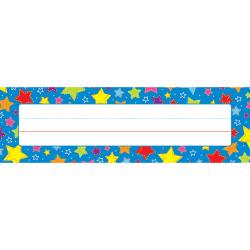"""Carson-Dellosa Desk Nameplates, 9 1/2"""" x 3"""", Stars, Pack Of 36"""