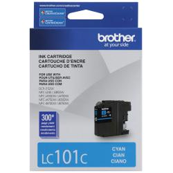 Brother® LC101-C Cyan Ink Cartridge