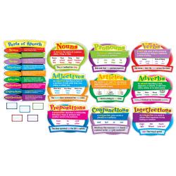 Carson-Dellosa Parts Of Speech Bulletin Board Set