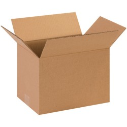 13in(L) x 9in(W) x 9in(D) - Corrugated Shipping Boxes