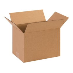 13in(L) x 9in(W) x 11in(D) - Corrugated Shipping Boxes