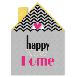 "Viabella New Home Greeting Card, 5"" x 7"", Multicolor"