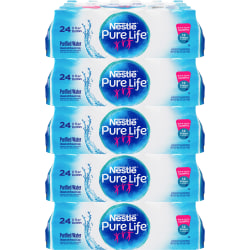 Pure Life 80 oz. Purified Bottled Water - Ready-to-Drink - 8 fl oz (237 mL) - 2880 / Pallet