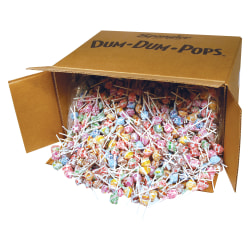 Assorted Lollipops, Dum Dums, Carton Of 2,340 Lollipops