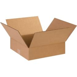 "Office Depot® Brand Flat Corrugated Boxes 14"" x 14"" x 3"", Bundle of 25"