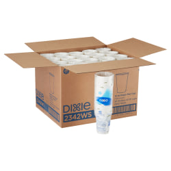 Dixie® Paper Hot Cups, 12 Oz., Pathways Design, Box Of 25