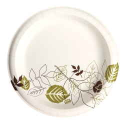 "Dixie® Ultra Paper Plates, 10-1/8"", Pathways, Pack Of 125 Plates"