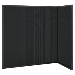basyx by HON® Quartet® Workstation Privacy Screen, Ash