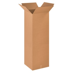 """Office Depot® Brand Corrugated Boxes 16"""" x 16"""" x 48"""", Bundle of 10"""
