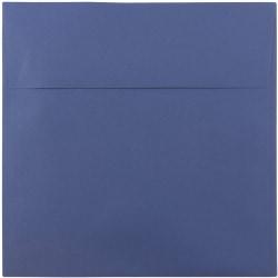 "JAM Paper® Color Square Invitation Envelopes, 8 1/2"" x 8 1/2"", Presidential Blue, Pack Of 25"