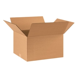 17in(L) x 14in(W) x 10in(D) - Corrugated Shipping Boxes