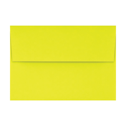 "LUX Invitation Envelopes With Peel & Press Closure, A1, 3 5/8"" x 5 1/8"", Citrus, Pack Of 1,000"
