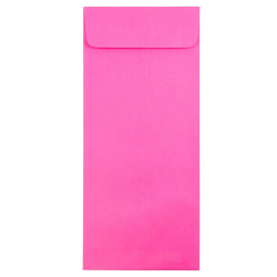 """JAM Paper® Open-End Policy Envelopes, #14, 5"""" x 11 1/2"""", Ultra Fuchsia Pink, Pack Of 25"""