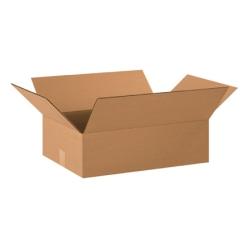 "Office Depot® Brand Flat Corrugated Boxes 20"" x 15"" x 6"", Bundle of 25"