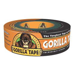"Gorilla Glue Repair Tape, 1.88"" x 12 Yd, Black"