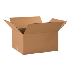20in(L) x 15in(W) x 10in(D) - Corrugated Shipping Boxes