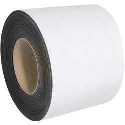 """Office Depot® Brand Magnetic Warehouse Label Roll, LH159, 4"""" x 100', White"""