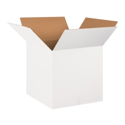 20in(L) x 20in(W) x 20in(D) - Corrugate White Shipping Boxes